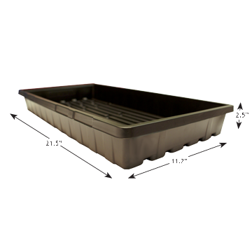 Propagation Tray 1020 With Holes - 2