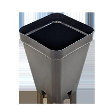 Square Plant Pot 6x6