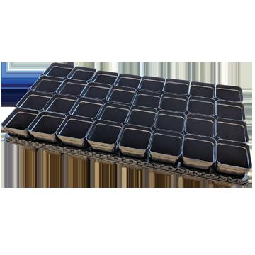 Square Plant Pot 6x6 - 2